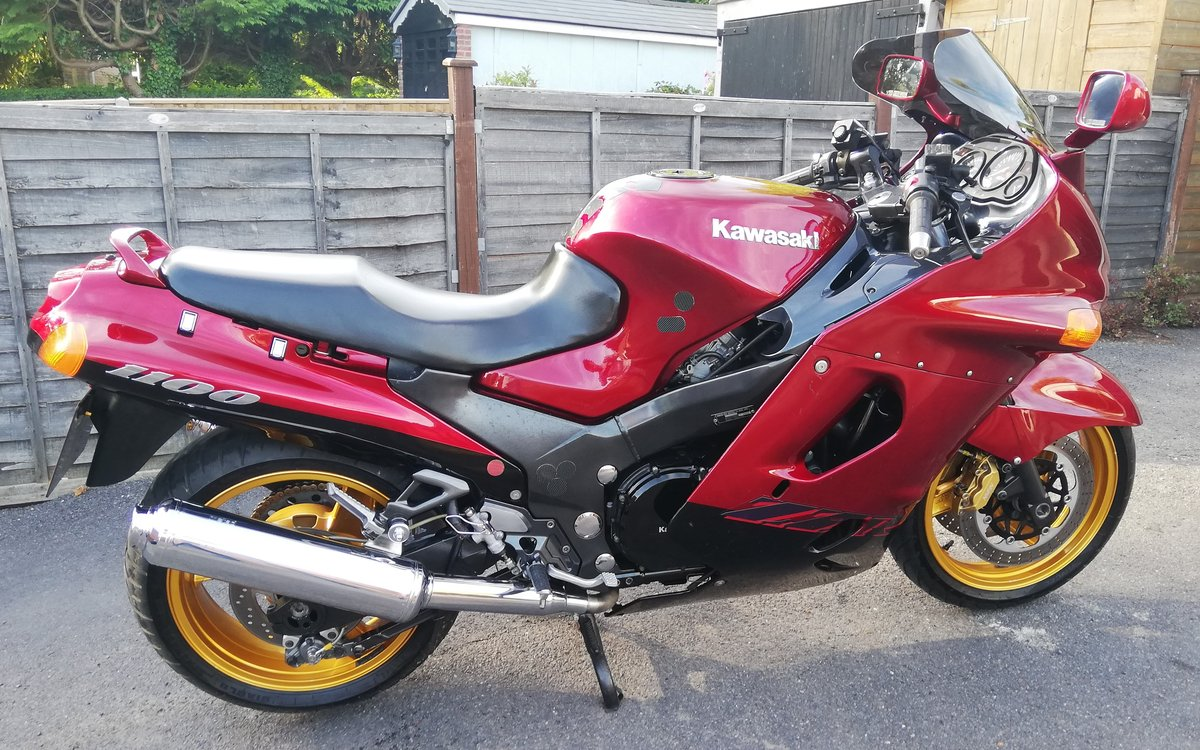 1999 Kawasaki ZZR1100 D7 For Sale (picture 2 of 6)