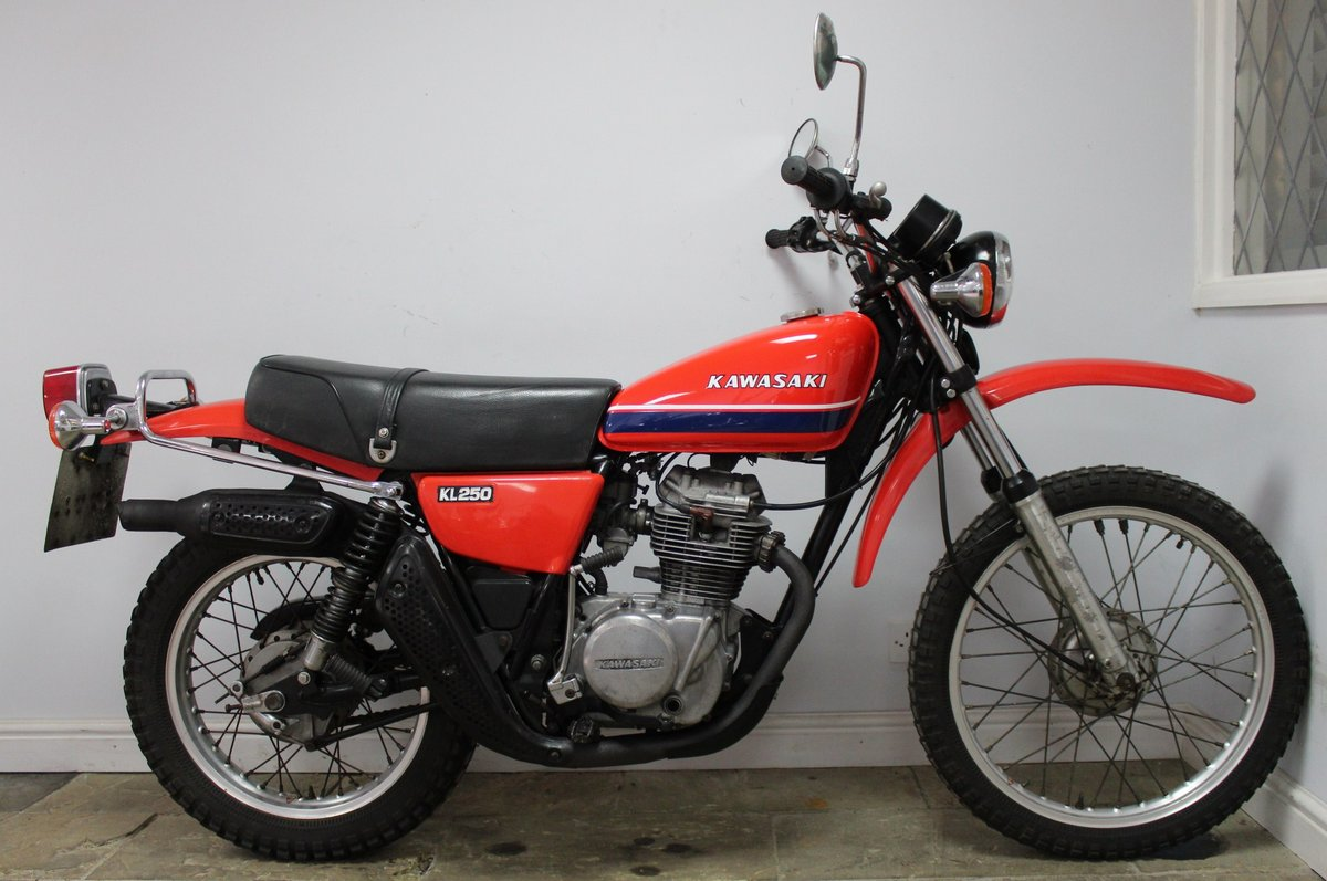 1979 Kawasaki KL 250 A UK example with 4 former keeper SOLD (picture 1 of 6)