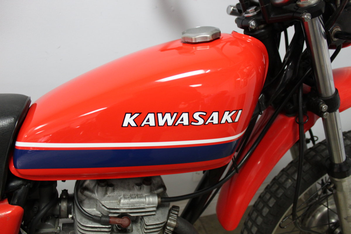 1979 Kawasaki KL 250 A UK example with 4 former keeper SOLD (picture 3 of 6)
