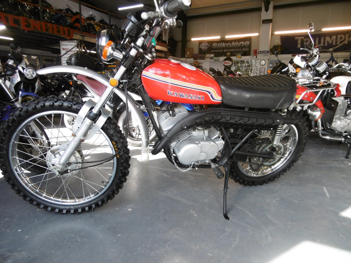 Kawasaki KE175 Standard and very Smart 1972 SOLD (picture 2 of 6)