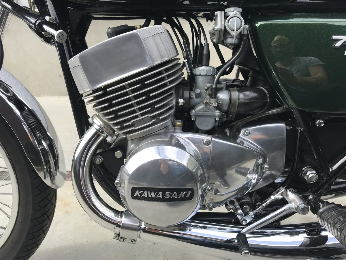 1975 Completely restored Kawasaki H2B 750 for sale For Sale (picture 5 of 6)