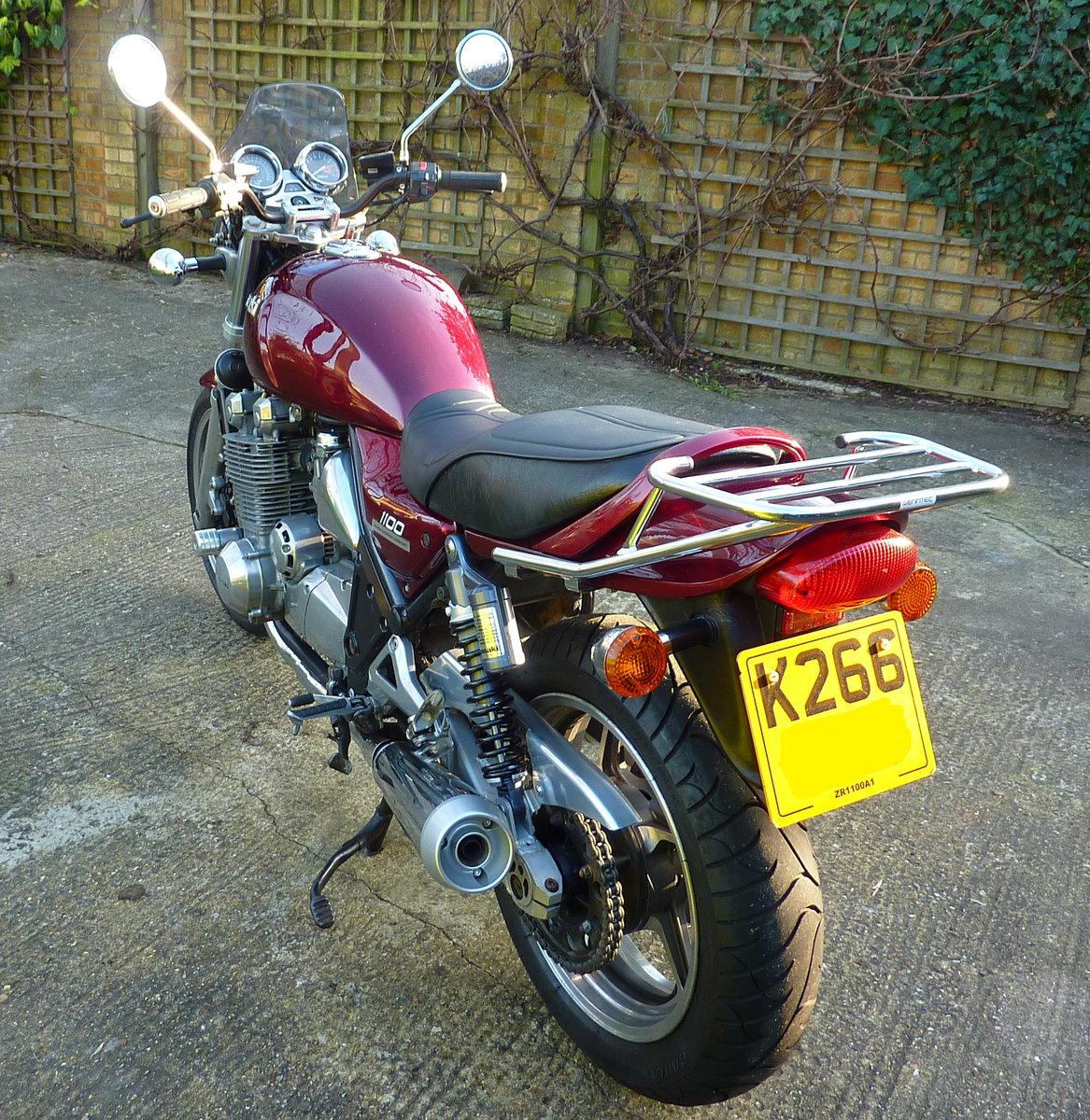 1993 Kawasaki Zephyr 1100 unique in Z1 style Deposit taken