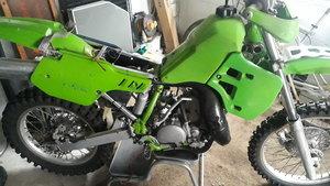 1988 Kawasaki kx 250 road registered For Sale