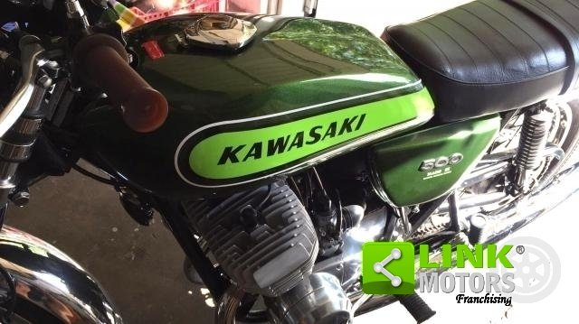 Kavasaki 500 H1 Mach III - 1972 For Sale (picture 4 of 6)