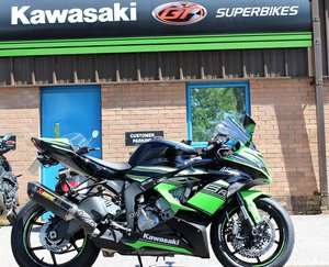 Picture of 2017 17 Kawasaki Ninja ZX-6R 636 KRT ABS Performance Edition SOLD