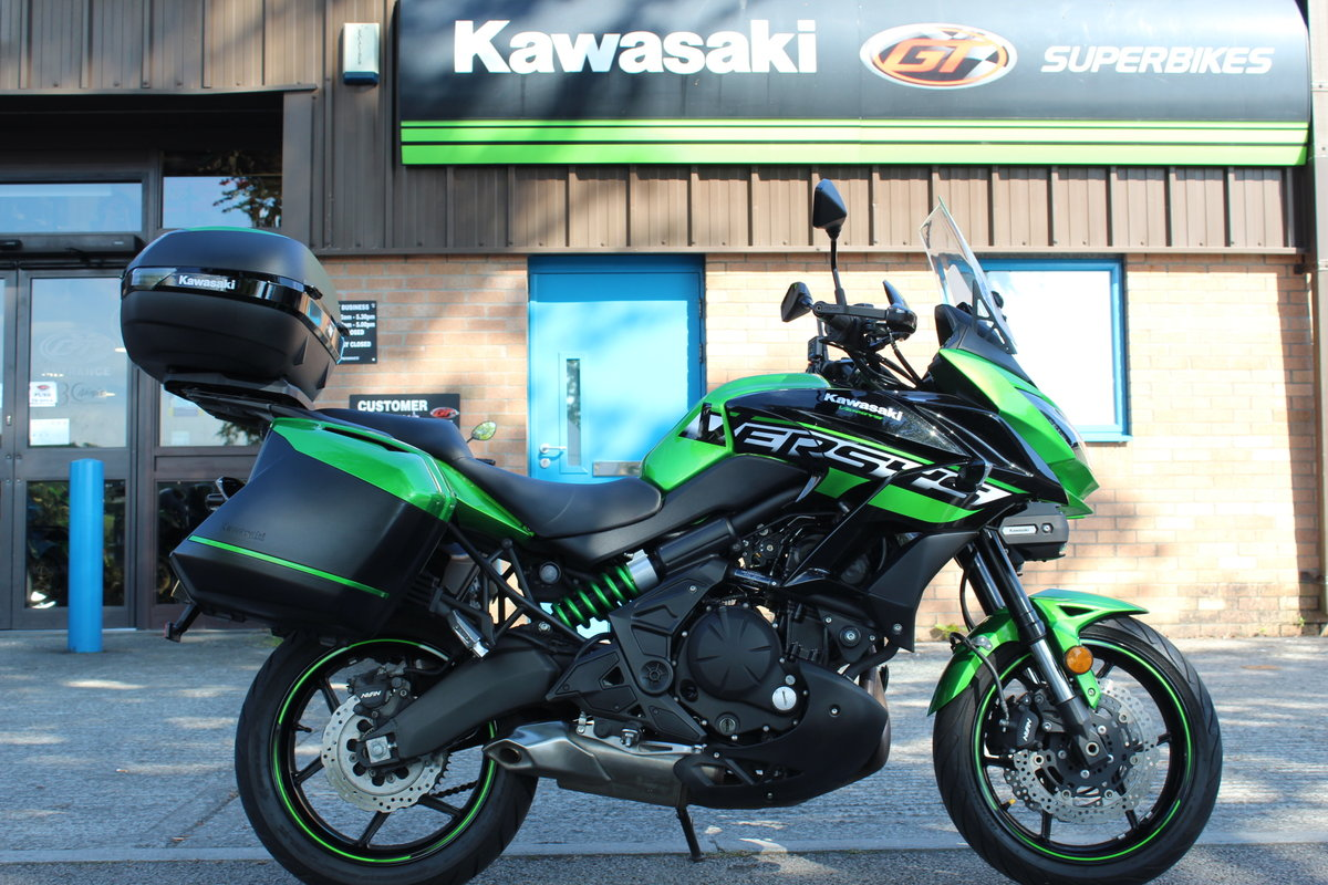 2018 18 Kawasaki Versys 650 ABS SE Grand Tourer For Sale (picture 1 of 6)