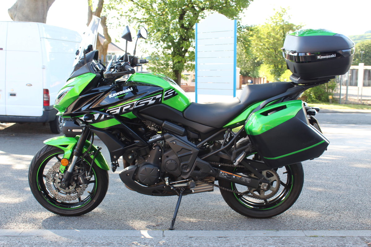 2018 18 Kawasaki Versys 650 ABS SE Grand Tourer For Sale (picture 4 of 6)