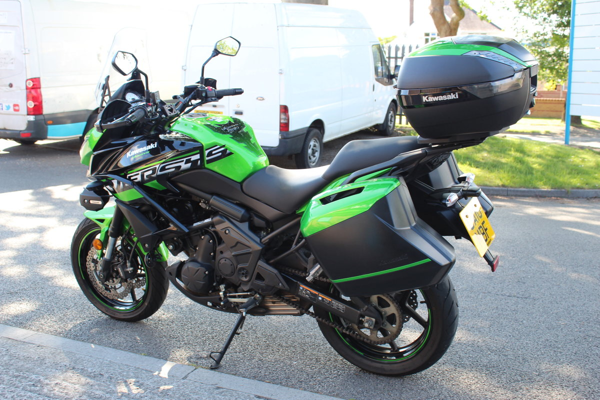 2018 18 Kawasaki Versys 650 ABS SE Grand Tourer For Sale (picture 5 of 6)