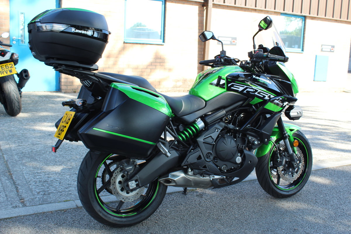 2018 18 Kawasaki Versys 650 ABS SE Grand Tourer For Sale (picture 6 of 6)