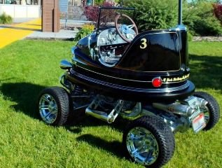 1959 DODGEM Bumper Car +Fast Kawasaki 700 KFX Quad $25.5k For Sale