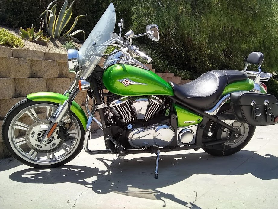 2008 Mint Kawaski Motorcycle For Sale (picture 1 of 6)