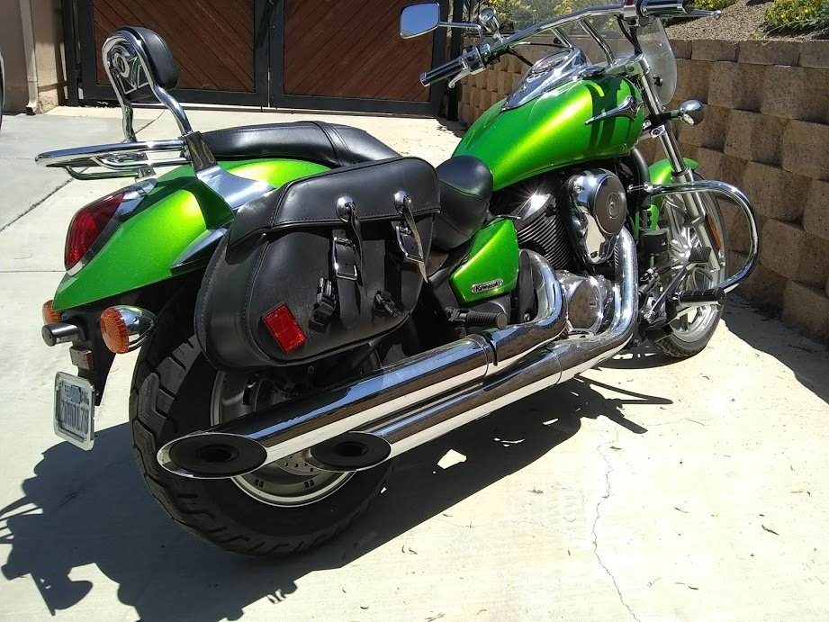 2008 Mint Kawaski Motorcycle For Sale (picture 2 of 6)