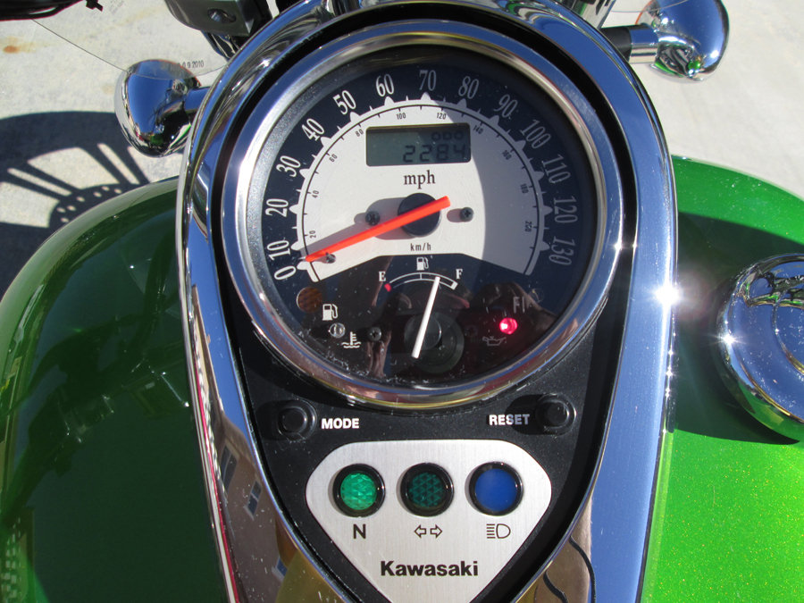 2008 Mint Kawaski Motorcycle For Sale (picture 3 of 6)