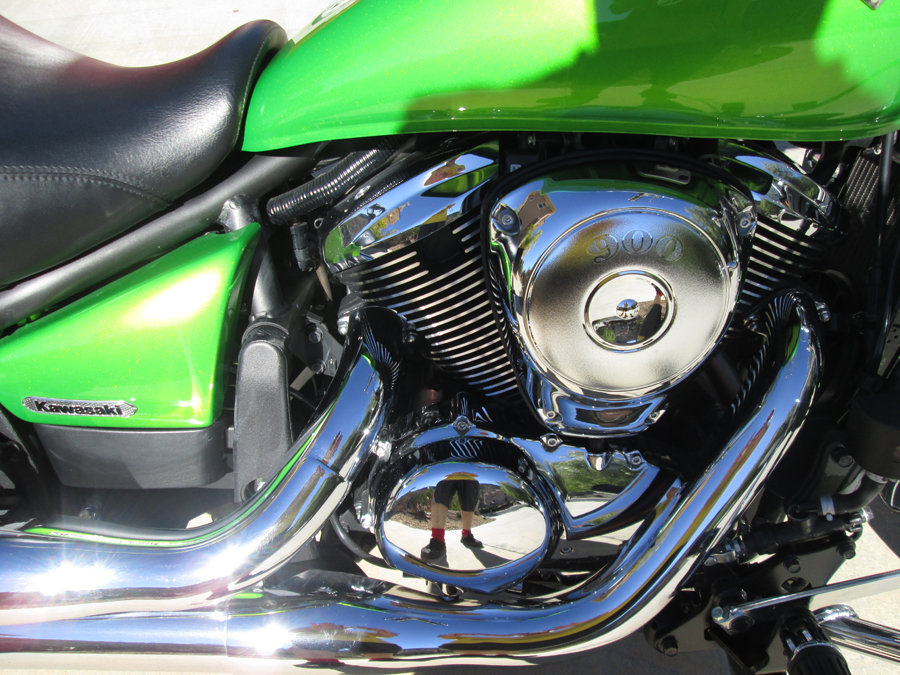 2008 Mint Kawaski Motorcycle For Sale (picture 4 of 6)
