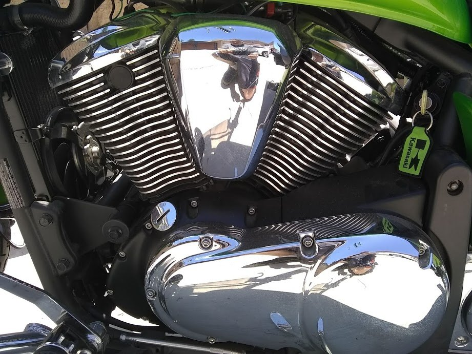 2008 Mint Kawaski Motorcycle For Sale (picture 6 of 6)