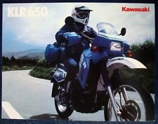Kawasaki KLR650 A3 1989 Original Survivor ADV bike For Sale