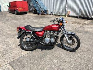 1977 KAWASAKI Z650 B1 CANDY RED SOLD