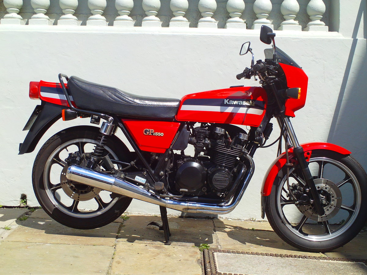 1981 KAWASAKI GPZ550 D1 SOLD (picture 1 of 6)