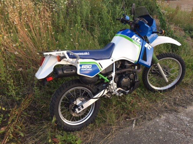 Kawasaki KLR650 A3 1989 Original Survivor ADV bike For Sale (picture 4 of 4)