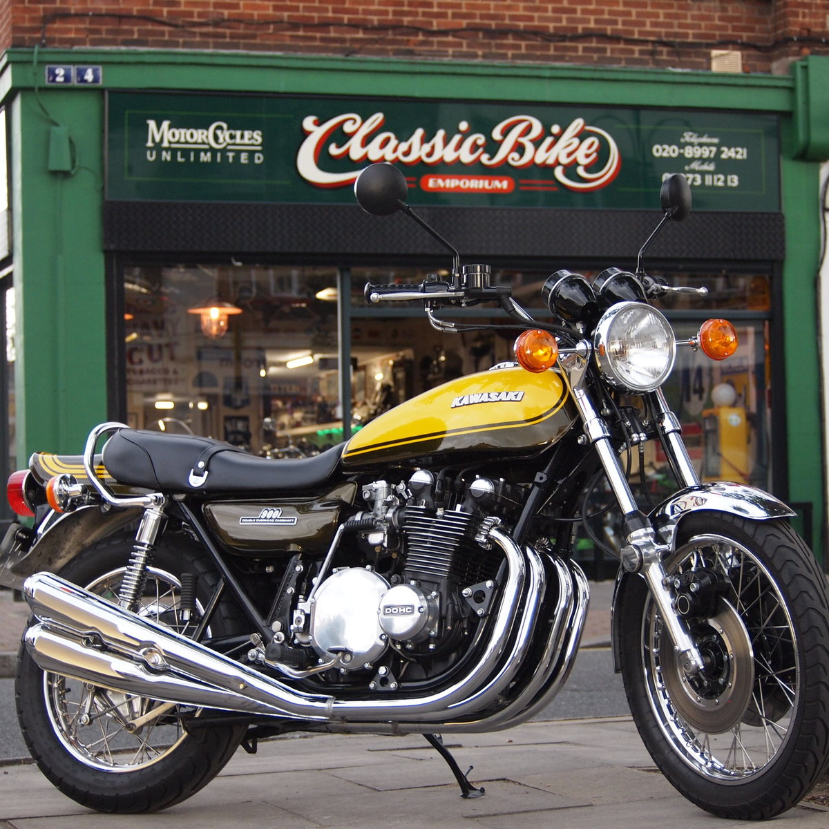 1974 Z1A 900 Genuine UK, RESERVED FOR ANDY. SOLD (picture 1 of 6)