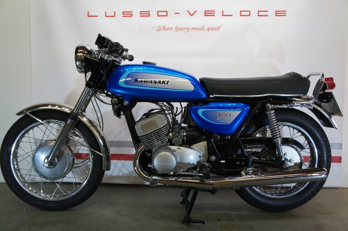1971 Kawasaki KH500 H1A  For Sale (picture 2 of 6)