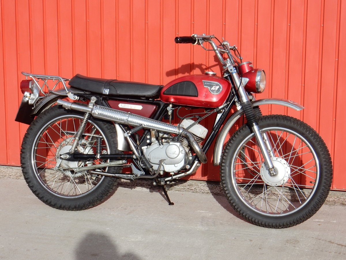1967 Kawasaki C2TR 120 Trail For Sale (picture 1 of 6)