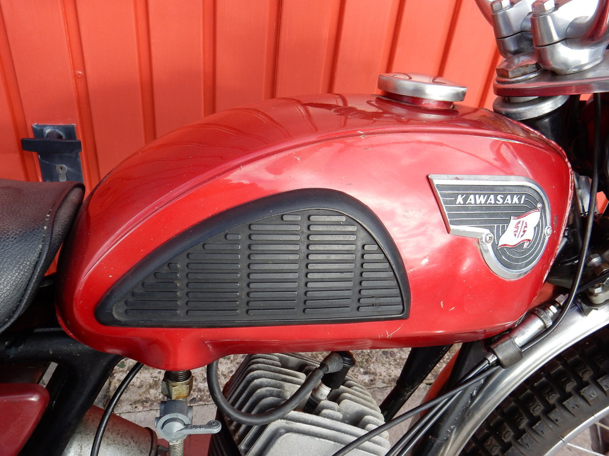 1967 Kawasaki C2TR 120 Trail For Sale (picture 4 of 6)
