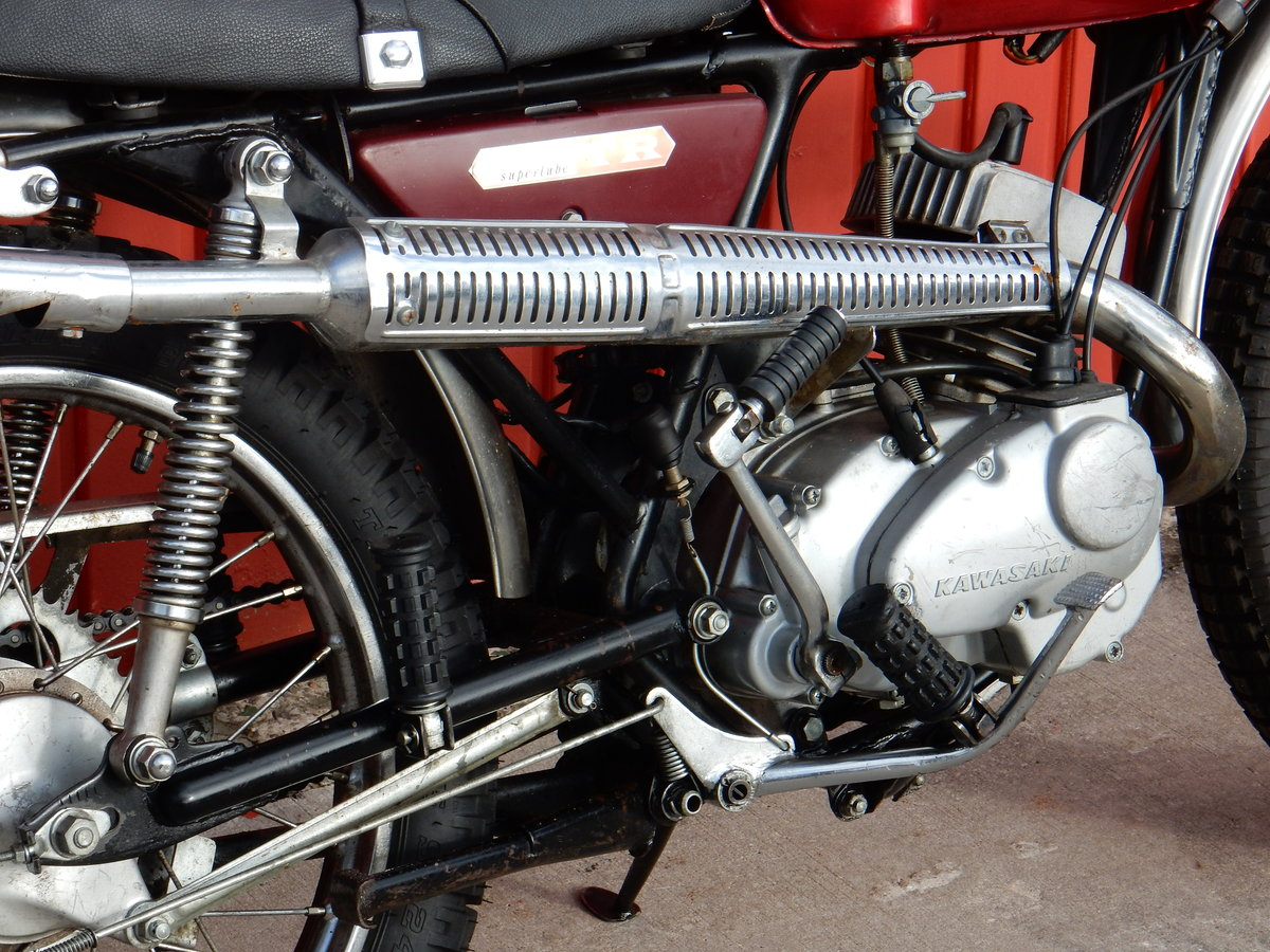 1967 Kawasaki C2TR 120 Trail For Sale (picture 5 of 6)