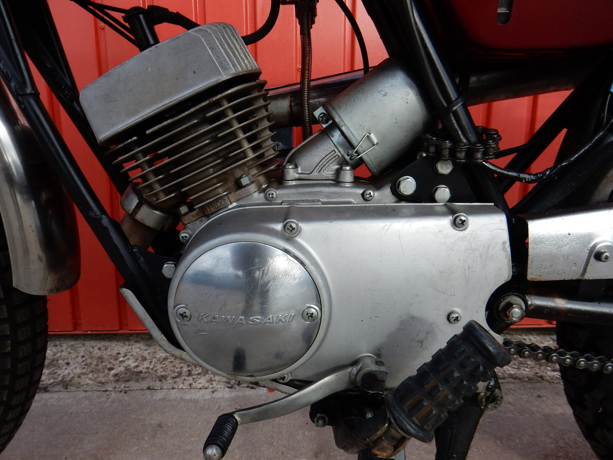 1967 Kawasaki C2TR 120 Trail For Sale (picture 6 of 6)
