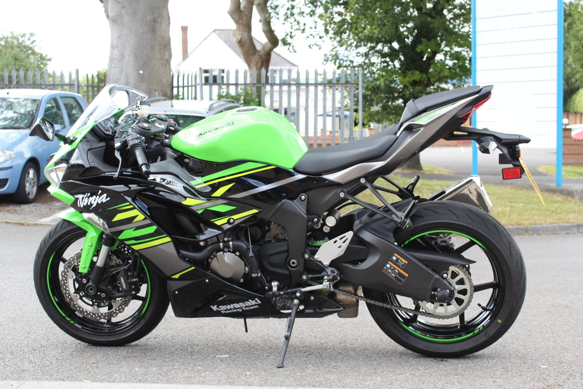 2019 19 Kawasaki Ninja ZX-6R 636 ABS KRT Edition SOLD (picture 4 of 6)