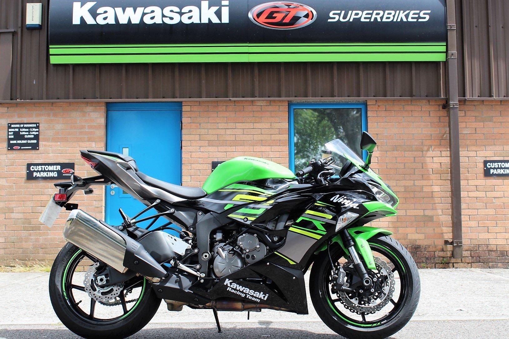 2019 19 Kawasaki Ninja ZX-6R 636 ABS KRT Edition SOLD (picture 1 of 6)