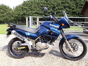 Kawasaki KLE500 Parallel Twin, 2006, Blue SOLD