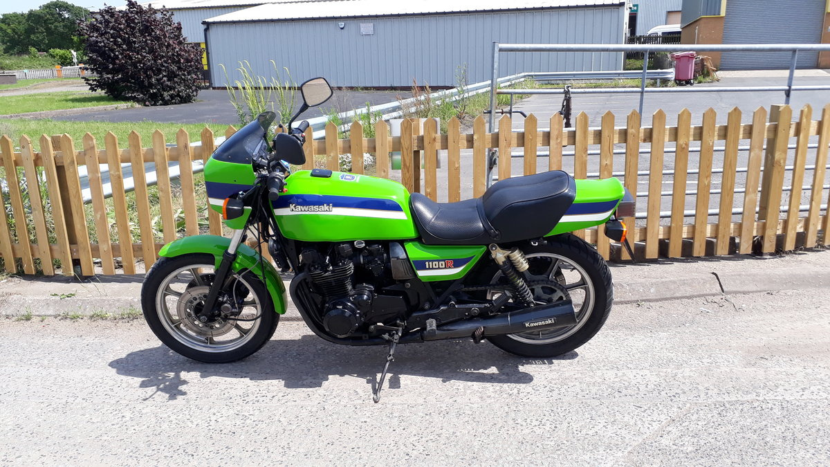 1985  Kawasaki Z1100R Eddie Lawson For Sale (picture 1 of 6)