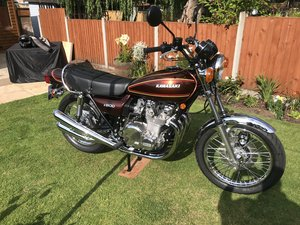1976 Kawasaki Z900 A4 UK Bike
