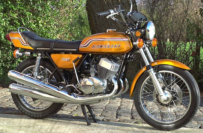 1972 Kawasaki H2 750. SOLD SOLD (picture 1 of 1)