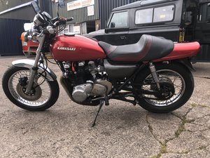 1976 Kawasaki KZ 900 A4 bike with 1974 Z1A Engine