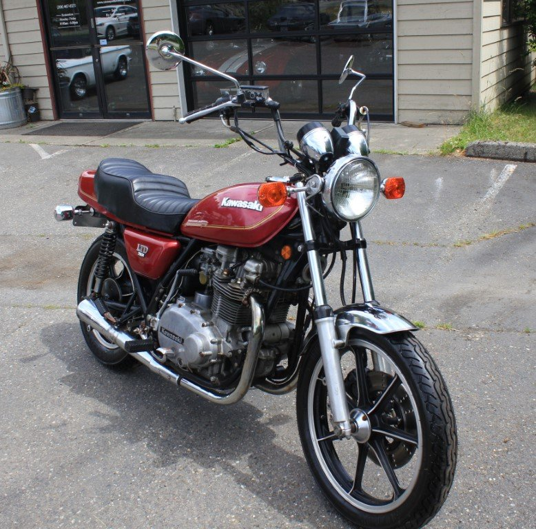 1980 Kawasaki KZ750 GI - Lot 602 For Sale by Auction (picture 1 of 6)