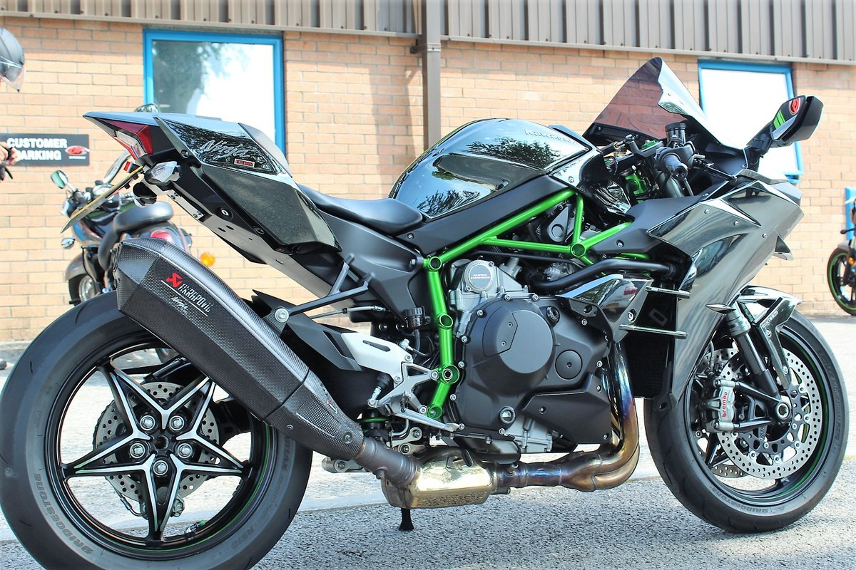 2015 15 Kawasaki NINJA H2 Supercharged Supersport For Sale (picture 6 of 6)