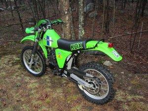 1980 Kawasaki  KDX 175  (TIME WARP) For Sale