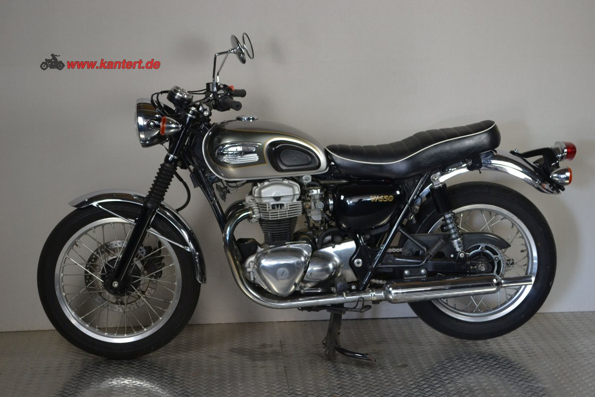 2002 Kawasaki W 650, 676 cc, 50 hp For Sale (picture 1 of 6)