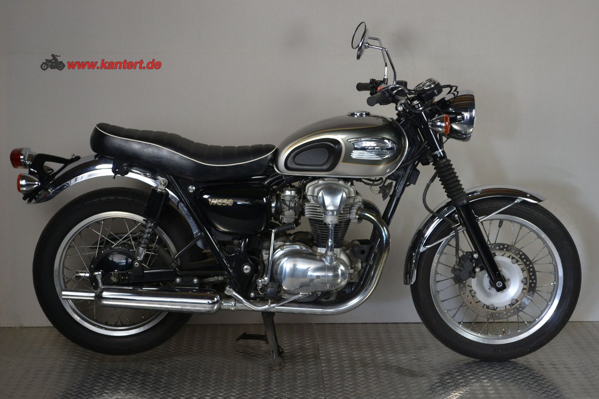 2002 Kawasaki W 650, 676 cc, 50 hp For Sale (picture 2 of 6)