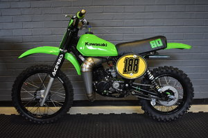Lot 136 - A 1981 Kawasaki KX80 - 10/08/2019 SOLD by Auction