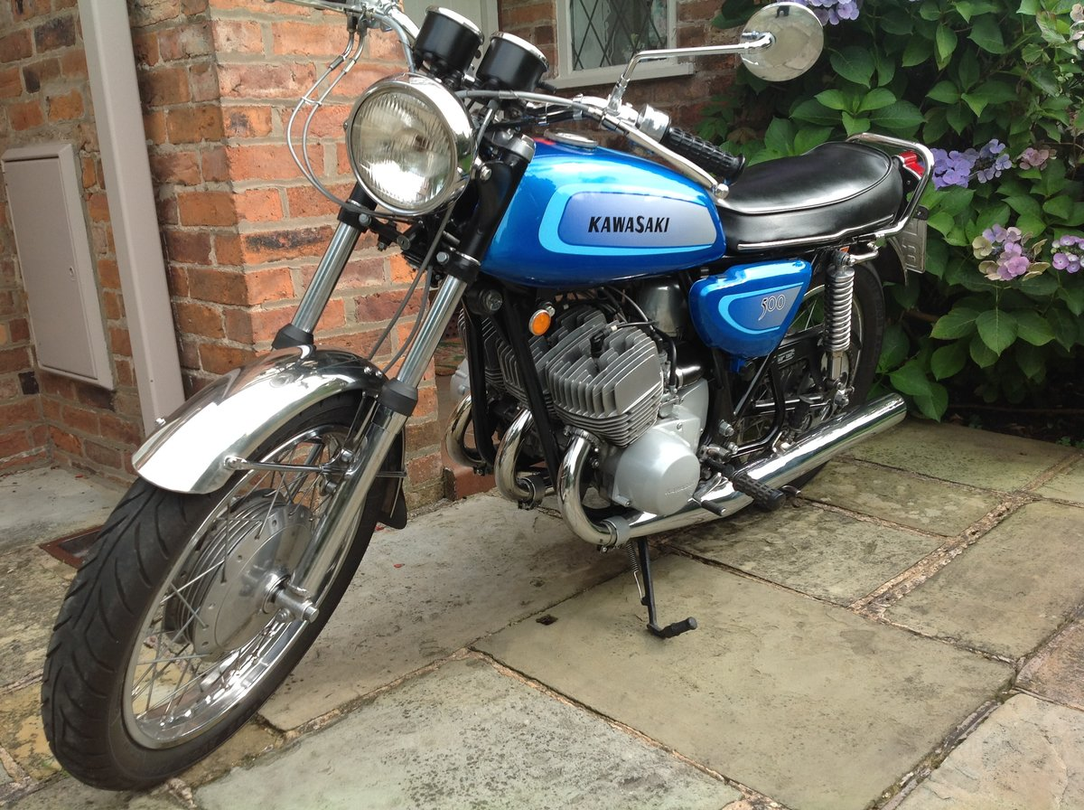 1971 Kawasaki H1 Mach 3 500 Triple For Sale | Car And Classic