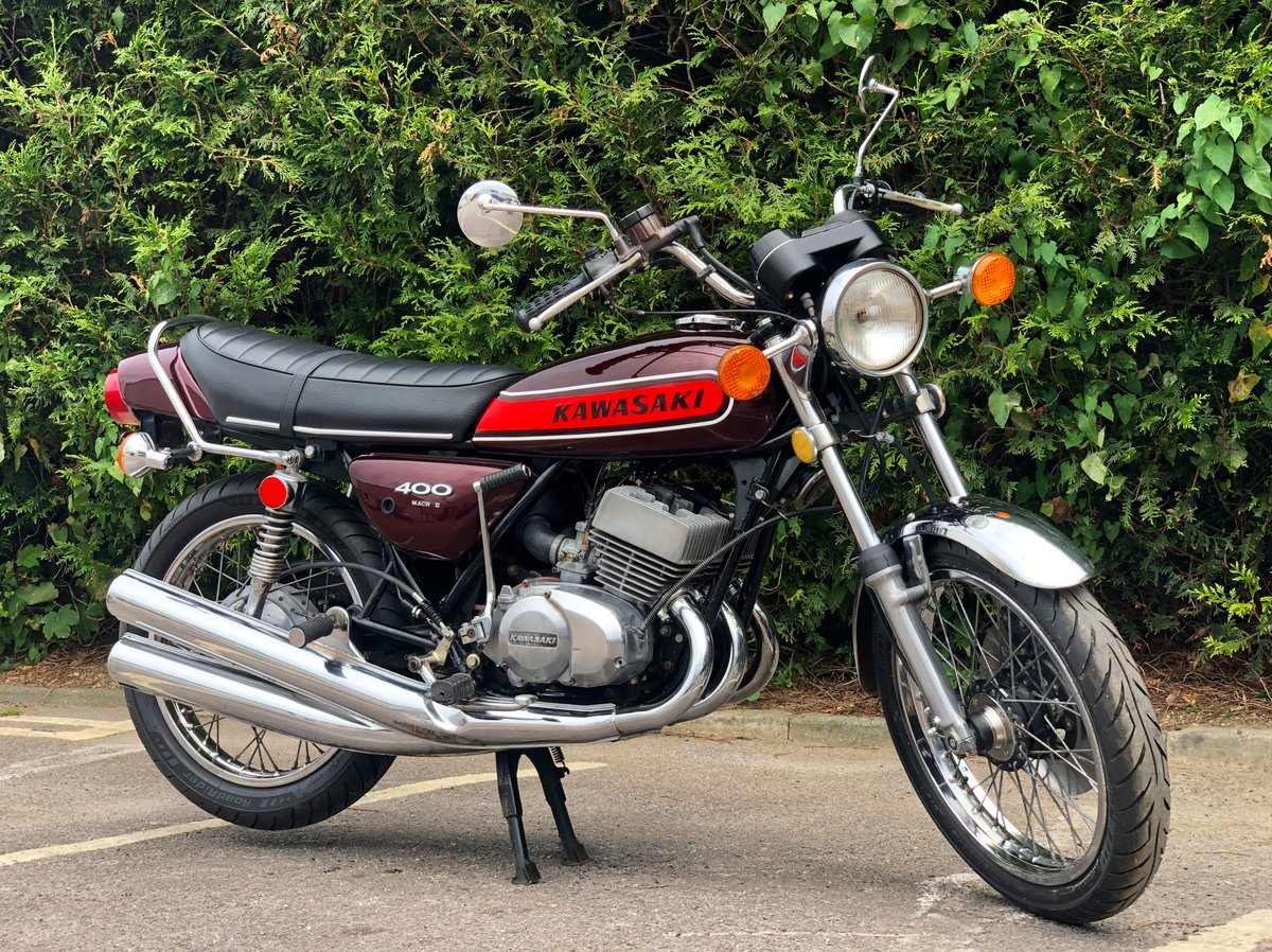 Rare Kawasaki S3 400cc 1974 In Great Condition For Sale (picture 1 of 6)
