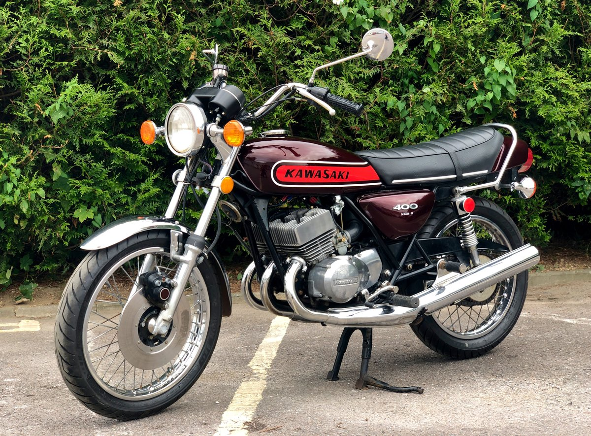 Rare Kawasaki S3 400cc 1974 In Great Condition For Sale (picture 2 of 6)