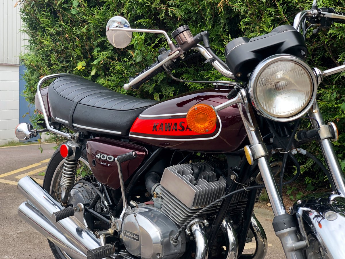 Rare Kawasaki S3 400cc 1974 In Great Condition For Sale (picture 3 of 6)
