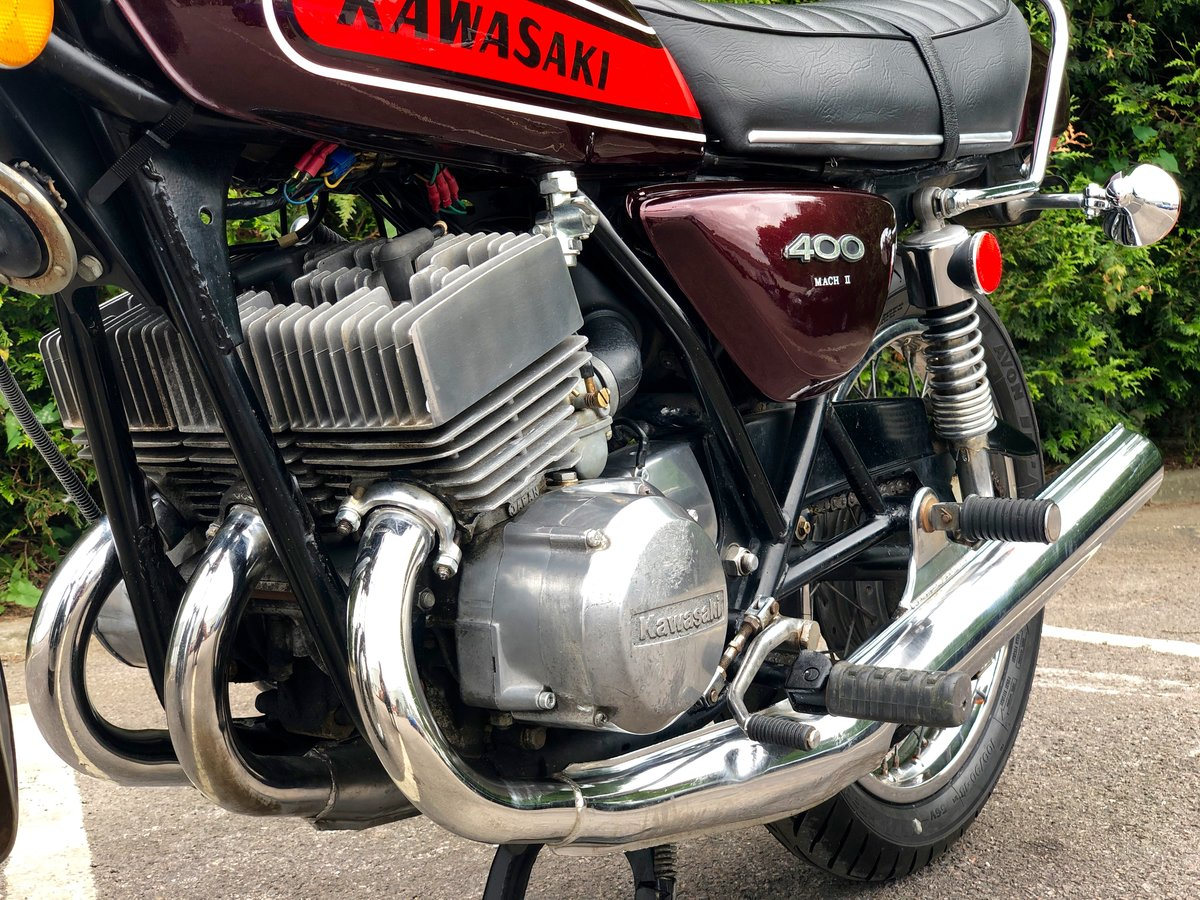 Rare Kawasaki S3 400cc 1974 In Great Condition For Sale (picture 4 of 6)