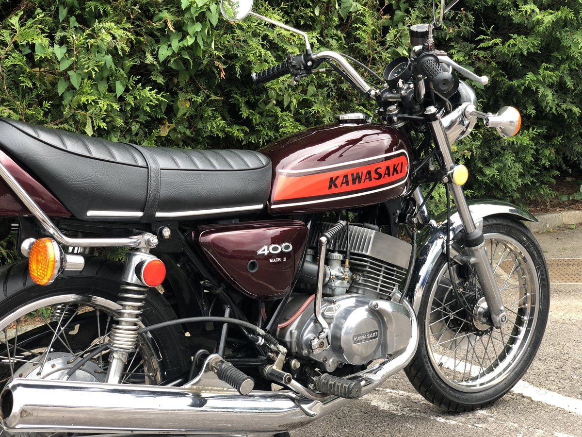 Rare Kawasaki S3 400cc 1974 In Great Condition For Sale (picture 5 of 6)