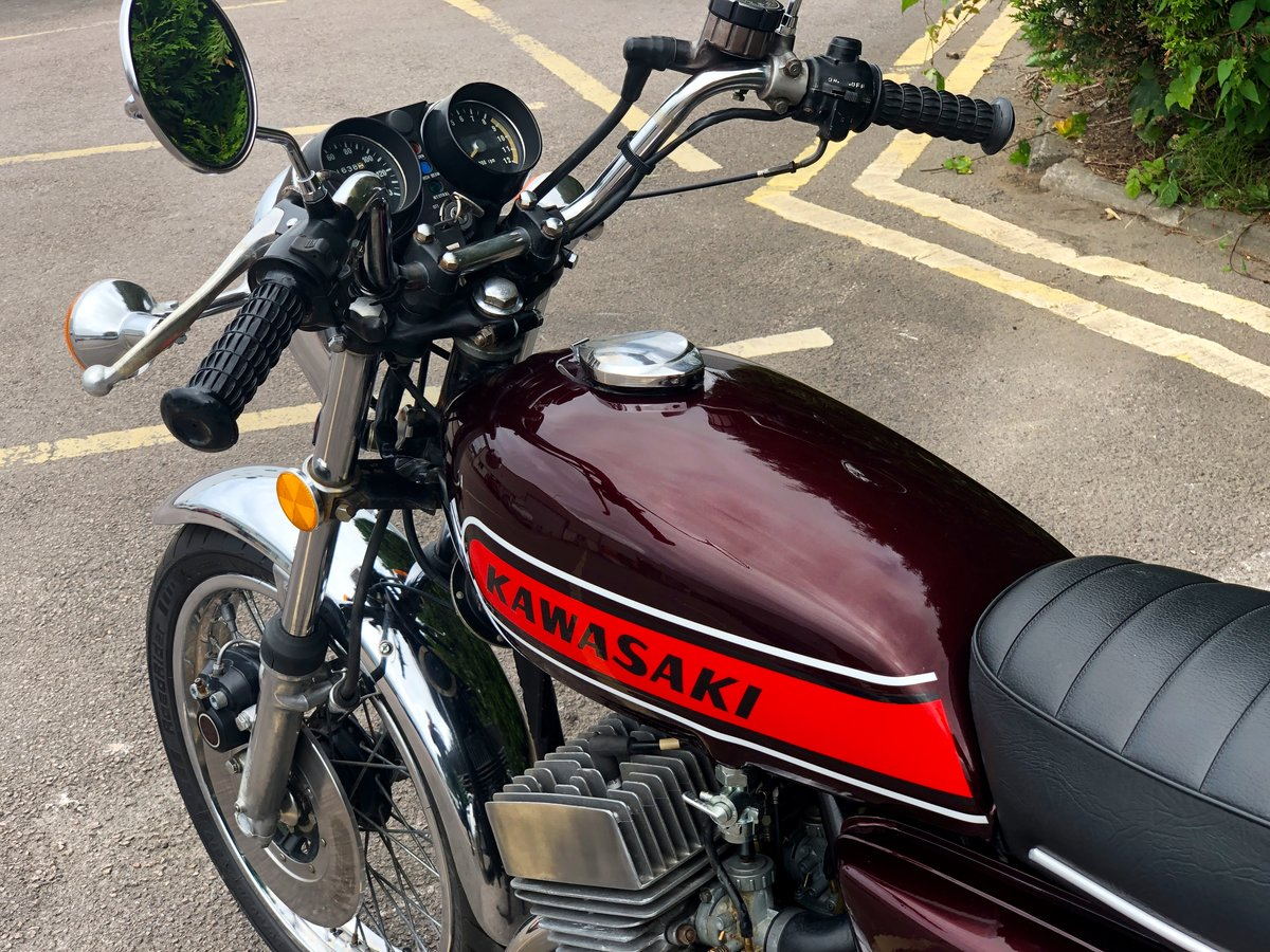 Rare Kawasaki S3 400cc 1974 In Great Condition For Sale (picture 6 of 6)