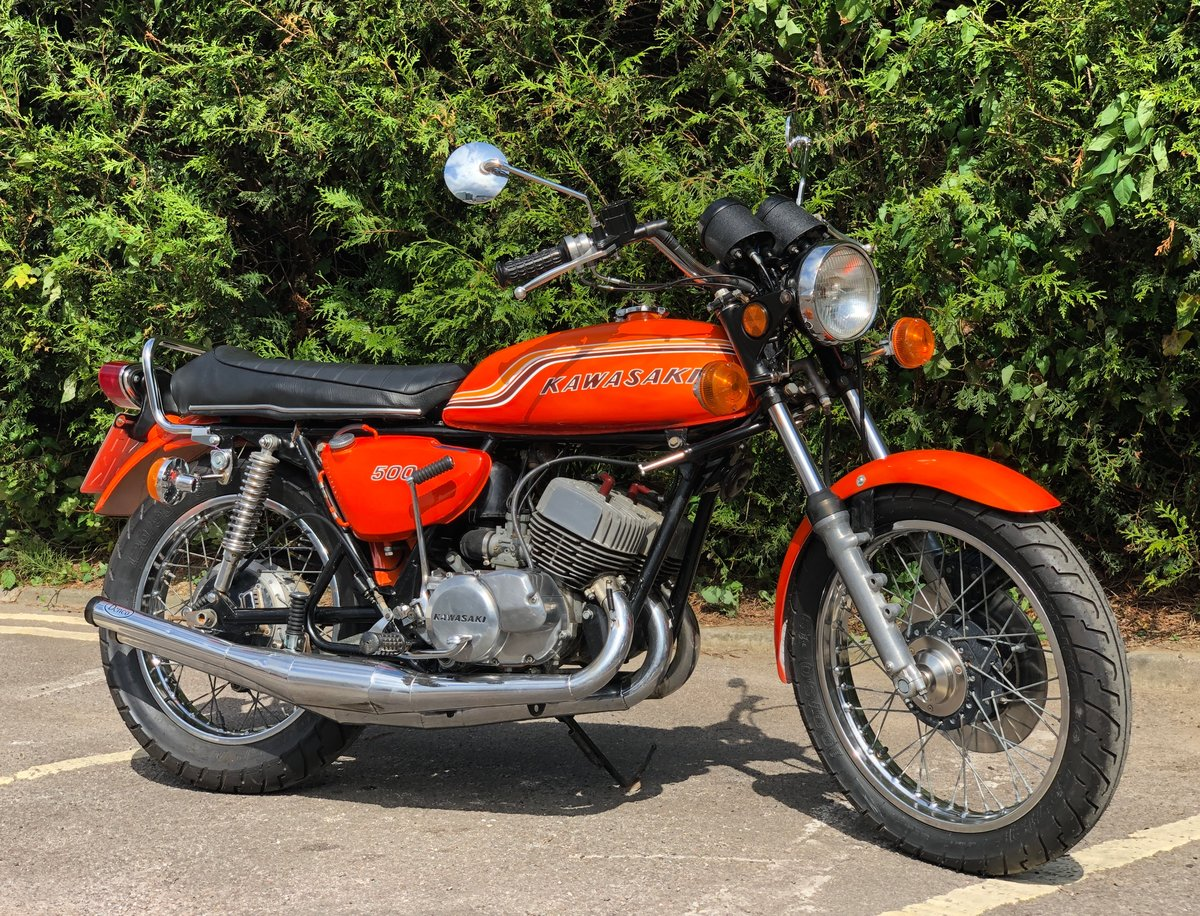 Kawasaki 500 H1 1971 500cc A Real Ripper !! SOLD (picture 1 of 6)